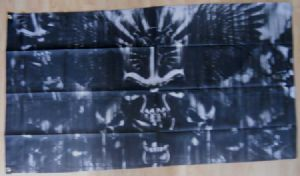 Pirate Skull with Swords Large Flag - 5' x 3'.